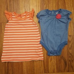 Baby Gap & ON Lot of 2 Tops